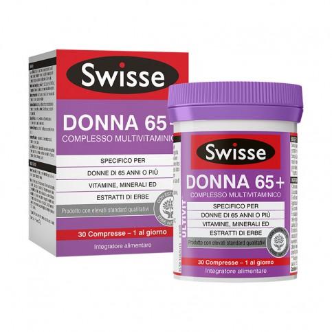 SWISSE DONNA 65+ COMPLESSO MULTIVITAMINICO 30 COMPRESSE - La tua farmacia online