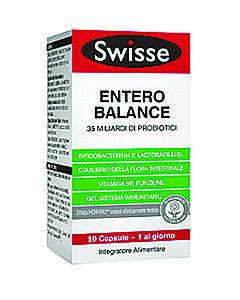 Swisse Entero Balance 35 Miliardi di Probiotici 10 capsule - La tua farmacia online