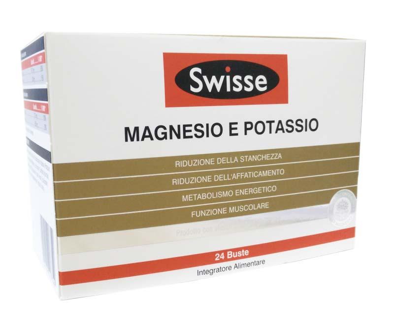SWISSE MAGNESIO E POTASSIO 24 BUSTE - Zfarmacia