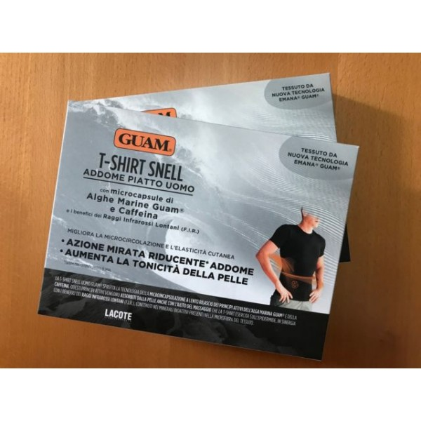 GUAM T-SHIRT SNELL ADDOME PIATTO UOMO TAGLIA S/M TAGLIA S/M - Farmastar.it