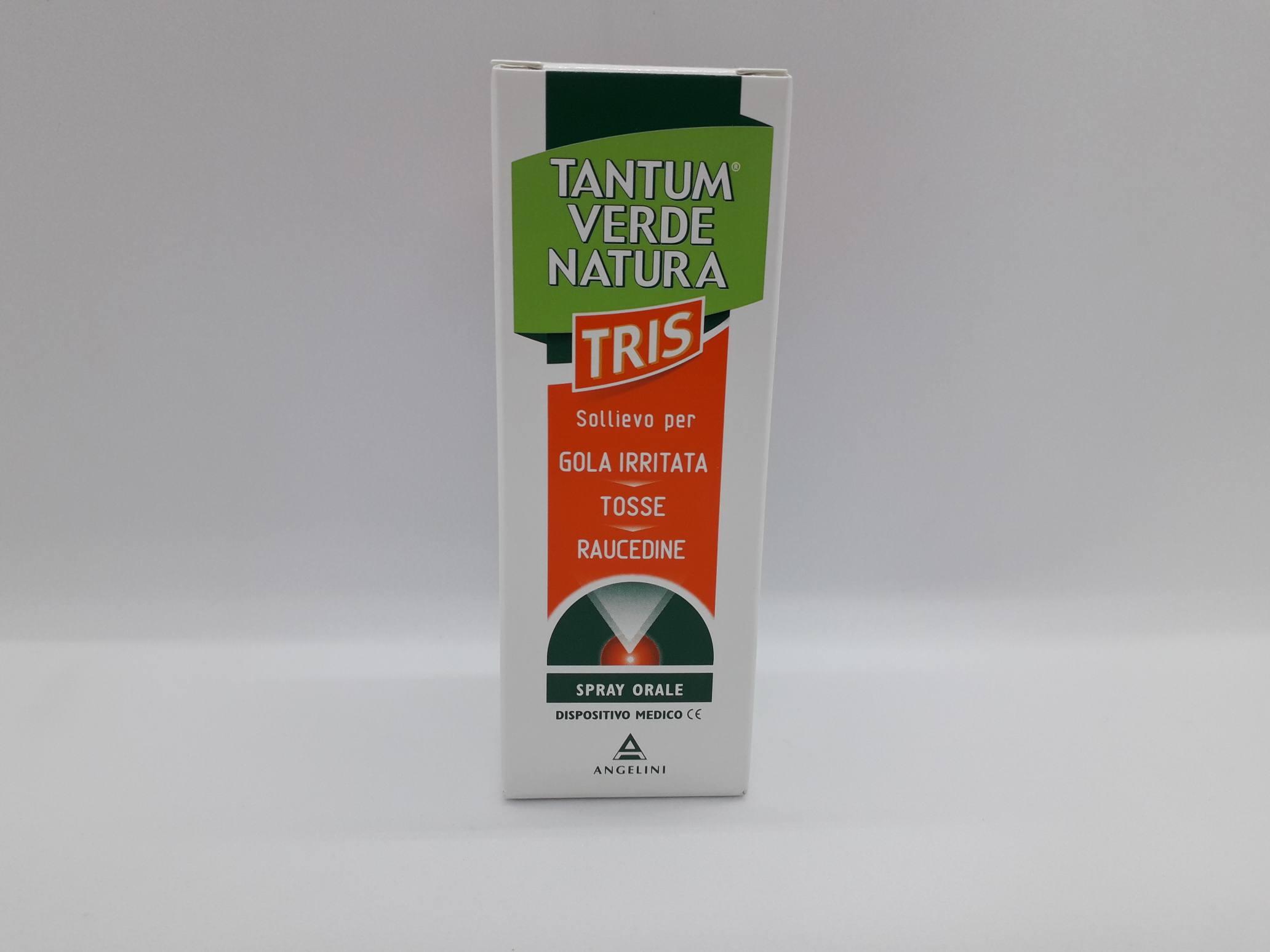 TANTUM VERDE NATURA TRIS NEBULIZZAZIONE 15 ML - Farmaciaempatica.it