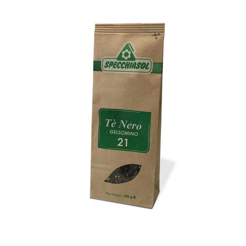 Specchiasol Tè Nero Tisana Pronta al Gelsomino 100 g - La tua farmacia online