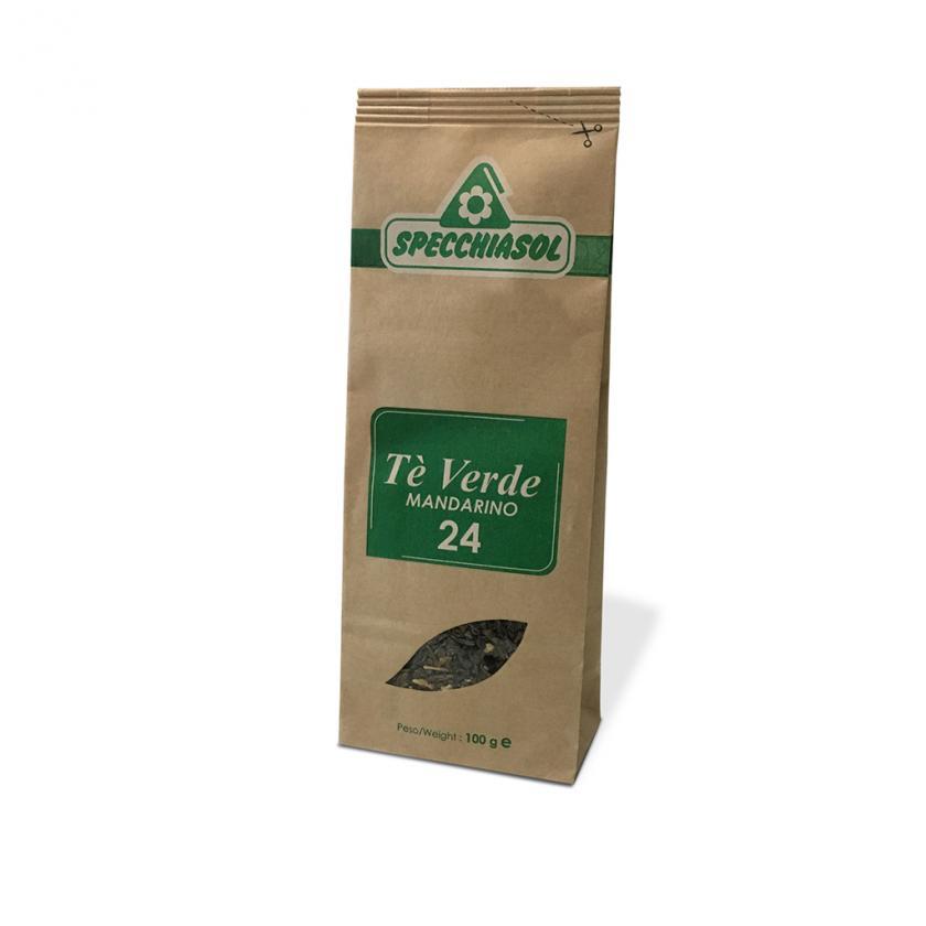 Specchiasol Tè Verde Tisana Pronta al Mandarino 100 g - La tua farmacia online
