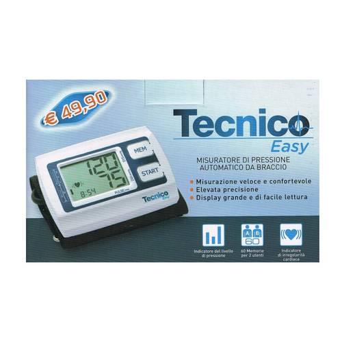 TECNICO EASY SFIGMOMANOMETRO CON BRACCIALE WIDE 22-42 CM - Farmalandia