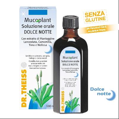 Theiss Mucoplant Soluzione Orale Dolce Notte Integratore Alimentare 100 ml - Farmacia 33
