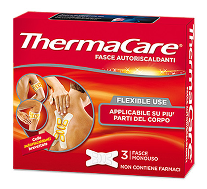 Thermacare Flexible Use 3 Fasce monouso Autoriscaldanti - La tua farmacia online
