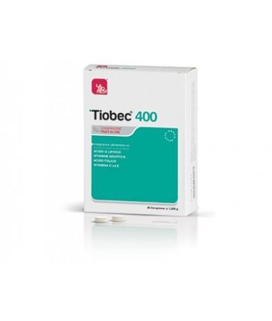 Tiobec 400 Fast Slow 40 Compresse - Farmamille