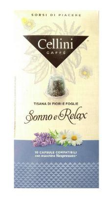 TISANA SONNO RELAX 10 CAPSULE CELLINI - Farmacia 33