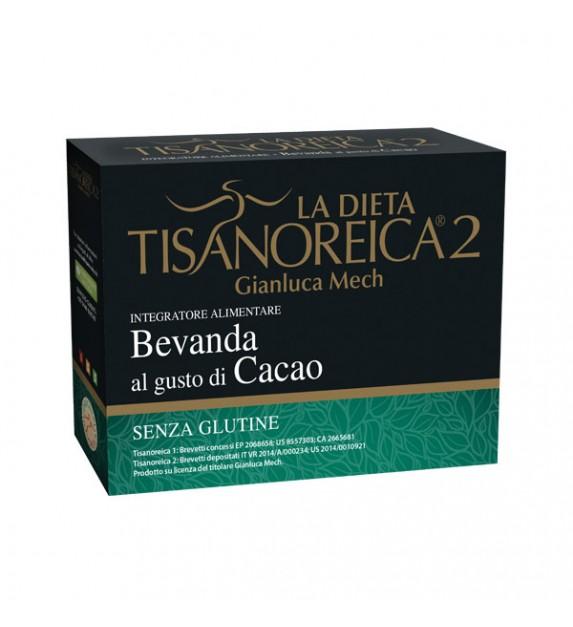Tisanoreica2 Bevanda al gusto di Cacao 4x28gr - La tua farmacia online