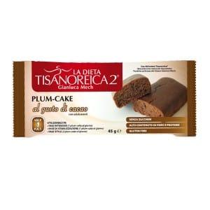 Tisanoreica Plum-Cake Cacao Prodotto Dietetico Monodose - Farmastar.it