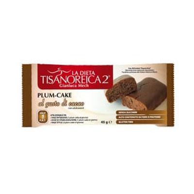 Tisanoreica Style Plum Cake al Gusto Cacao 45gr - La tua farmacia online