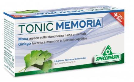 Tonic Memoria Integratore Alimentare 12 Flaconi - Farmacia 33