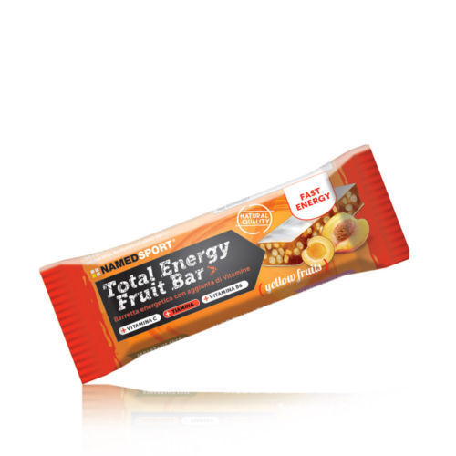 TOTAL ENERGY FRUIT BAR YELLOW FRUIT 1 PEZZO - Farmamille