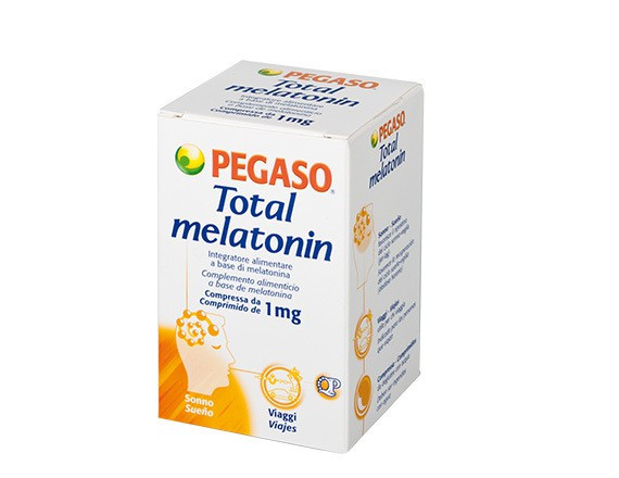 Total melatonin 180 compresse - Zfarmacia