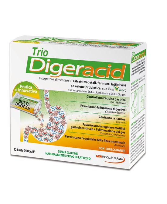 Trio Diger Acid 12 Buste - La tua farmacia online