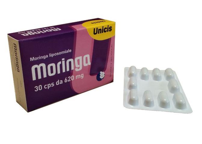 Moringa Unicis Integratore Alimentare 30 Capsule - Farmacia 33