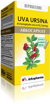 Arkocapsule Uva Ursina Integratore Benessere e Depurazione 90 Capsule - La tua farmacia online