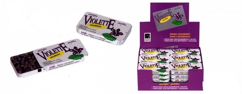 VIOLETTE LIQUIRIZIA VIOLA 20 G - Farmastar.it