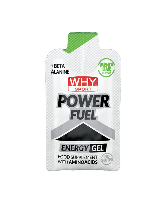 WHYSPORT POWER FUEL MENTA LIME 55 G - La tua farmacia online