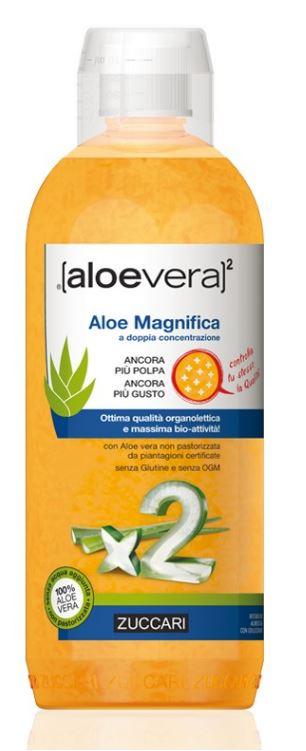 ZUCCARI ALOEVERA2 ALOE MAGNIFICA 1 L - Farmacia 33