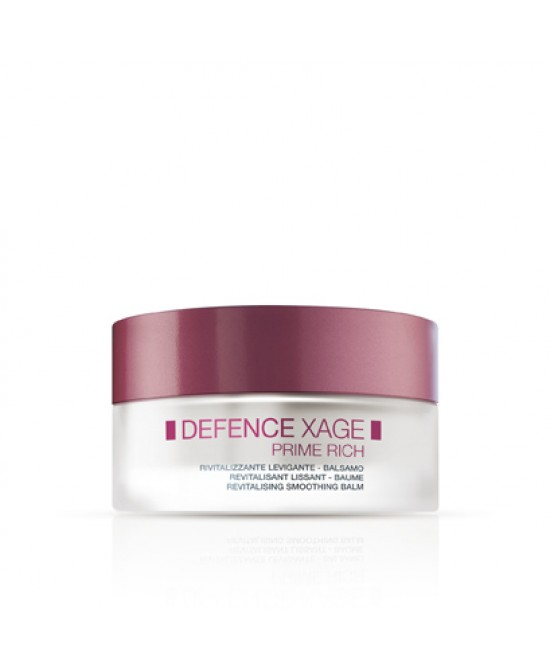 Defence Xage Prime Rich Balsamo Rivitalizzante Levigante Antii Rughe 50ml - Farmastar.it