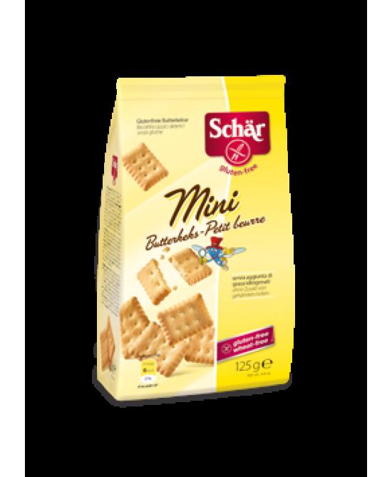 Schar Mini Butterkeks Biscotti Croccanti Senza Glutine 125g - Zfarmacia