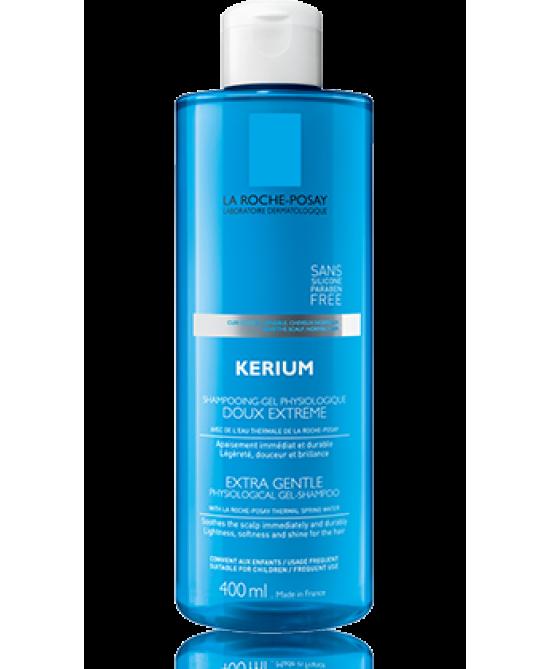 La Roche-Posay Kerium Dolcezza Estrema Shampoo-Gel Fisiologico 400ml - Farmastar.it