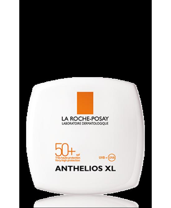 La Roche-Posay Anthelios XL Crema Compatta Uniformante SPF50+ Protezione Molto Alta Ultra UVA Tonalità 02 Confezione 9g - FARMAEMPORIO