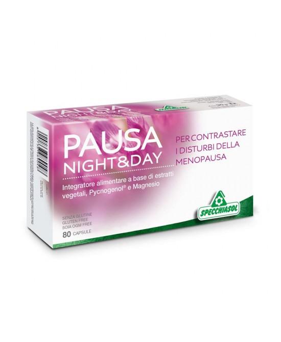 Specchiasol Pausa Night & Day Integratore Menopausa 80 Capsule - La tua farmacia online