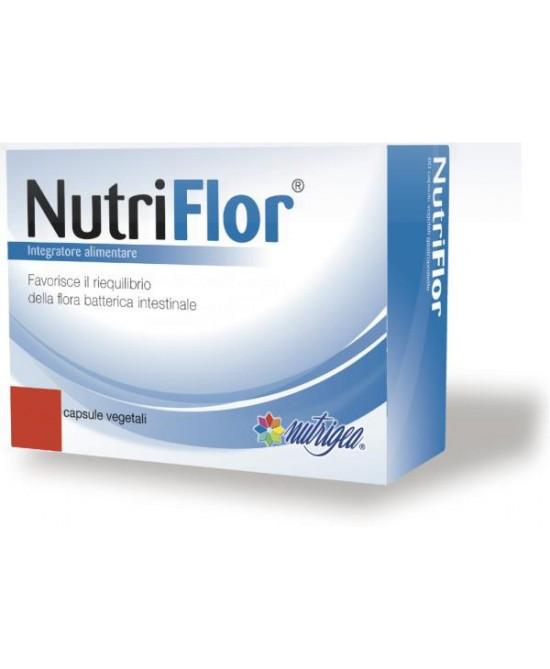 Nutrigea NutriFlor 60 Capsule - FARMAEMPORIO