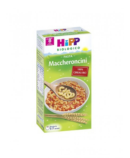 HiPP Biologico Pastina Maccheroncini 320g - FARMAEMPORIO