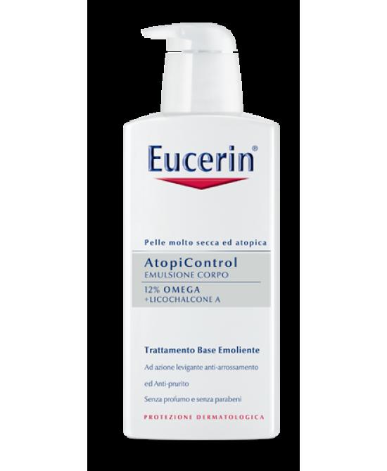 Eucerin AtopiControl Emulsione Corpo 400ml - Farmabravo.it