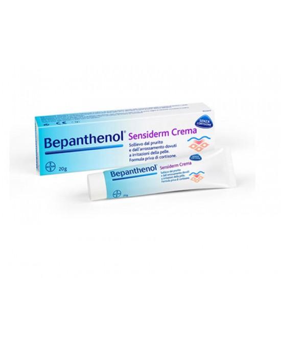 Bepanthenol Sensiderm Crema Senza Cortisone 20ml - Farmamille