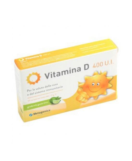Metagenics Vitamina D 400 U.I. Integratore Alimentare 84 Compresse - Farmamille