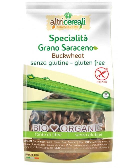 Altri Cereali Specialità Grano Saraceno Pasta Fusilli Bio Senza Glutine 250g - FARMAEMPORIO