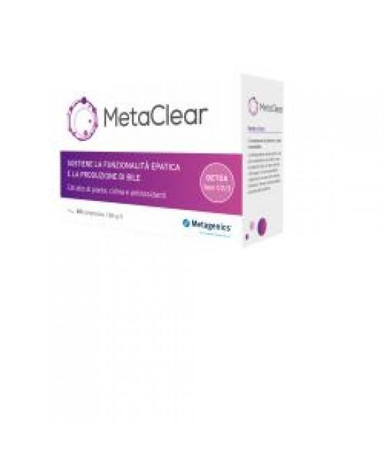 Metaclear 60cpr - Zfarmacia