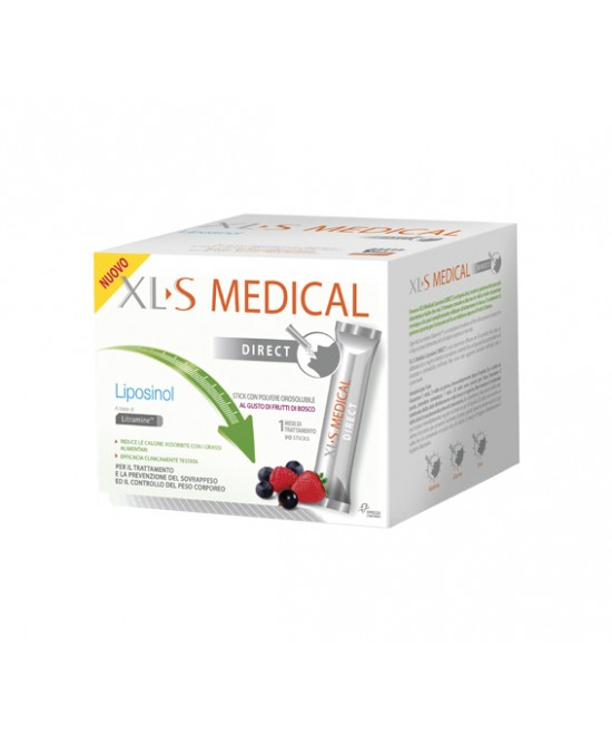 XLS Medical Liposino 90 Stick Orosolubili - La tua farmacia online