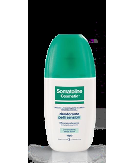 Somatoline Cosmetic Deodorante Pelli Sensibili Vapo 75ml - Farmawing