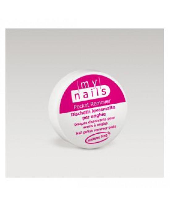 My Nails Pocket Remover Dischetti Levasmalto Per Unghie 15 Dischetti - Farmacento