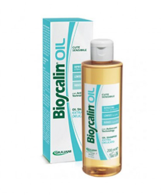 Giuliani Bioscalin Oil Shampoo Extra Delicato 200ml - Zfarmacia