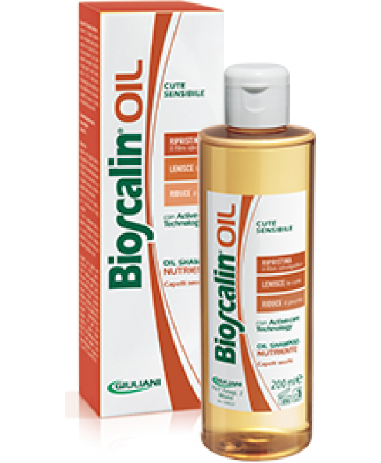Bioscalin Oil Shampoo Nutriente 200ml - Zfarmacia
