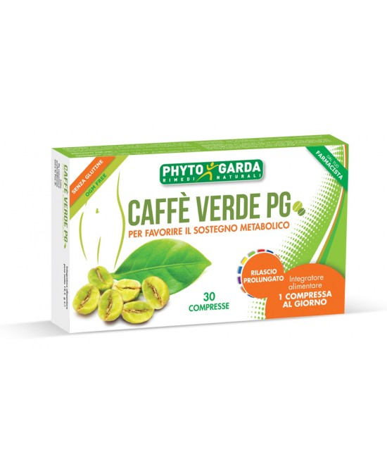Phyto Garda Caffe Verde Pg Integratore Alimentare 30 Compresse - La tua farmacia online