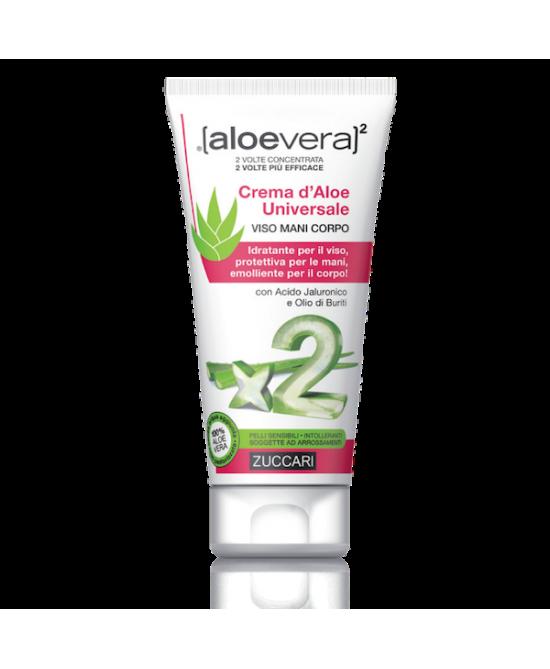 Zuccari Aloevera2 Crema D'Aloe Universale Doppio Effetto 75ml - La tua farmacia online