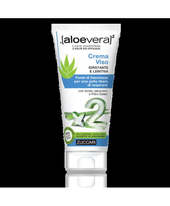Zuccari Aloevera2 Crema Viso Idratante E Lenitiva 50ml - La tua farmacia online