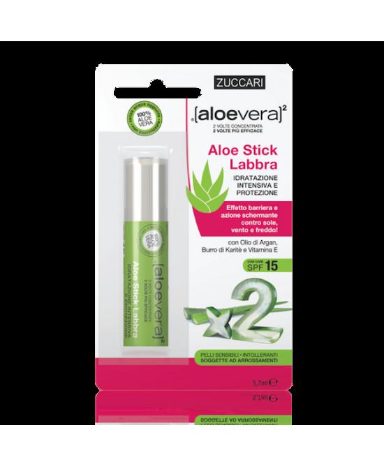 Zuccari Aloevera2 Aloe Stick Labbra 5.7ml - Farmacia 33