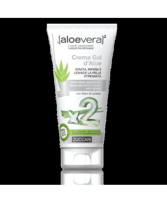 Zuccari Aloevera2 Crema Gel D'Aloe 150ml - FARMAEMPORIO
