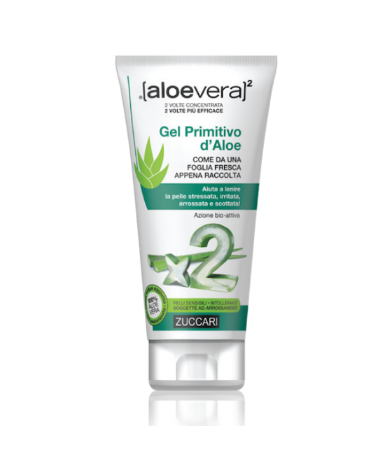 Zuccari Aloevera2 Gel Primitivo D'Aloe Lenitivo Idratante Pelle Stressata 150ml - Farmastar.it