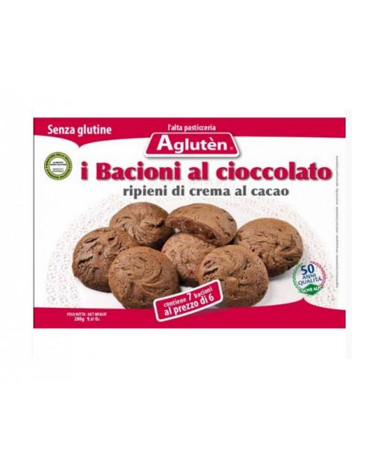 Aglutèn Bacioni Al Cioccolato Biscotti Senza Glutine160g - farma-store.it