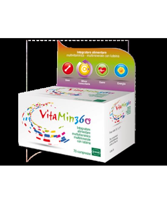 Sofar Vitamin 360 Integratore Alimentre Multivitaminico Multiminerale 70 Compresse - Farmajoy