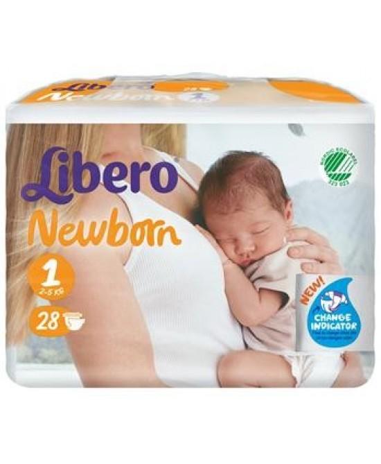 Libero Newborn Pann 1 28pz - FARMAEMPORIO